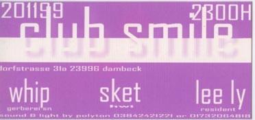 1999.11.20 Club Smile