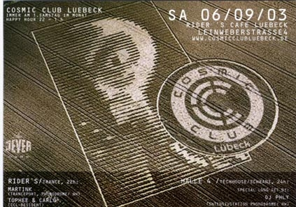 Luebeck - 2003.09.06 Cosmic Club