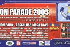 Vision Parade 2003