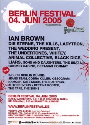 2005.06.04 Berlin Festival