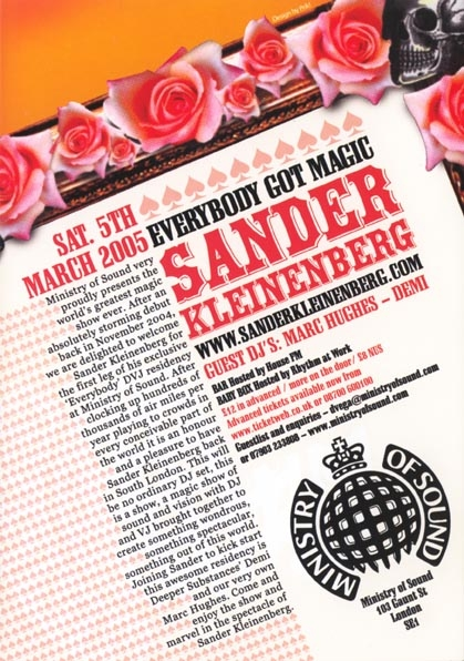 2005.03.05 Ministry of Sound b