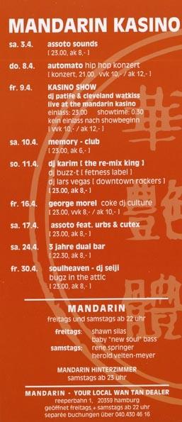 2004.04 Mandarin Kasino b