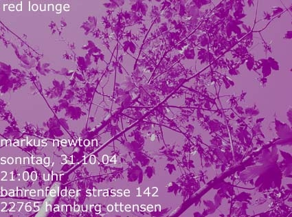 2004.10.31 Red Lounge