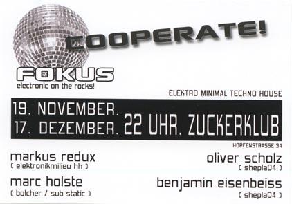 2005.11.19 Zuckerclub