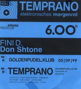 1999.09.05 Golden Pudel Klub