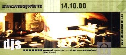 2000.10.14 Juice Club