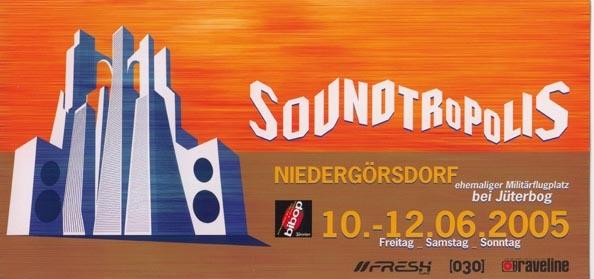Soundtropolis 2005 a