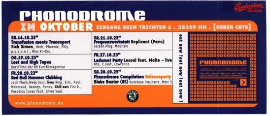 2000.10 Phonodrome