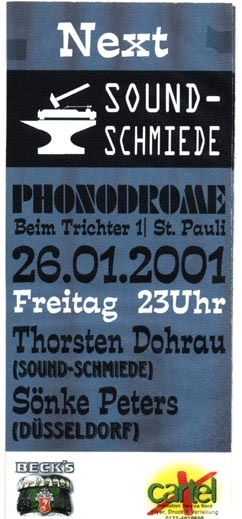 2001.01.26 Phonodrome