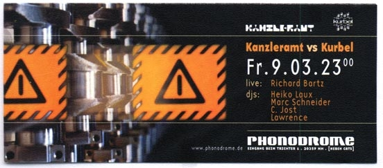 2001.03.09 Phonodrome