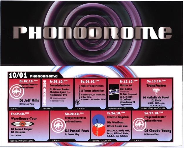 2001.10 Phonodrome