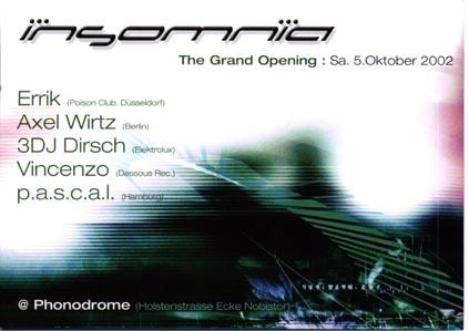 2002.10.05 Phonodrome