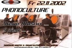 2002.11.22 a Phonodrome