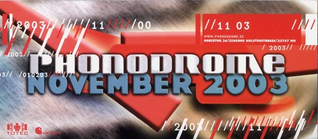2003.11 a Phonodrome