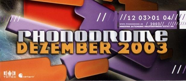 2003.12 a Phonodrome