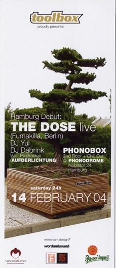 2004.02.14 Phonodrome