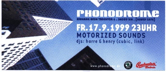 1999.09.17 Phonodrome