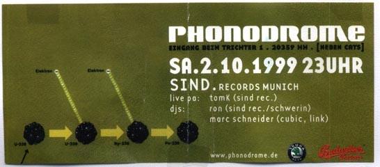 1999.10.02 Phonodrome