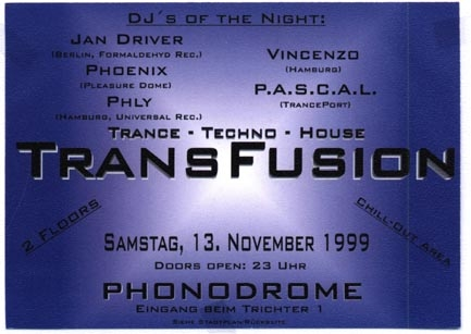 1999.11.13 Phonodrome