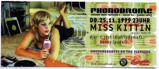1999.11.25 Phonodrome