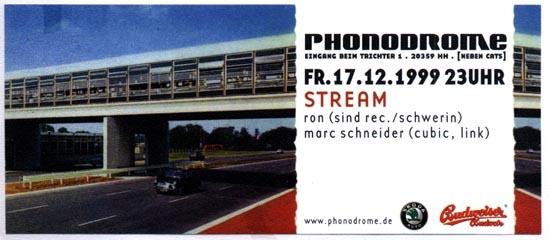 1999.12.17 Phonodrome