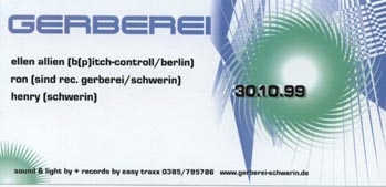 1999.10.30 Gerberei Schwerin