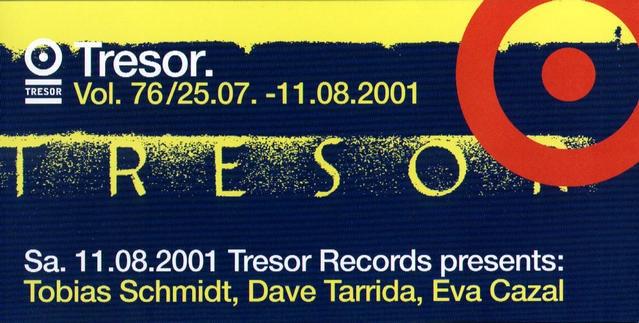2001.08.03 Tresor