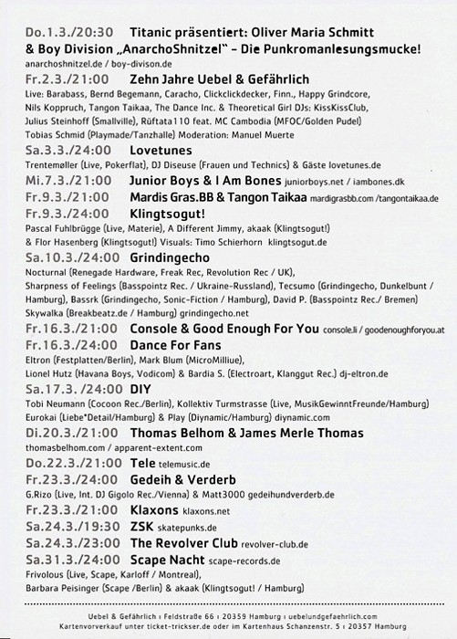 2007.03 b Uebel & Gefaehrlich