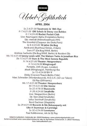 2006.04 Uebel & Gefaehrlich b