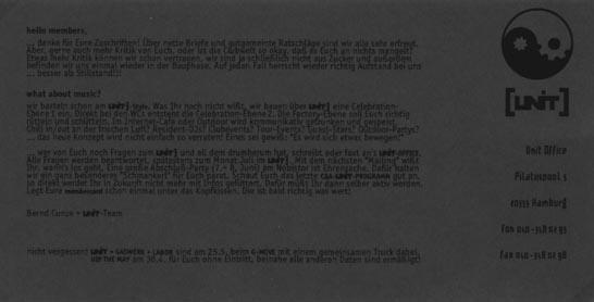 1996.05 Mailing UNIT