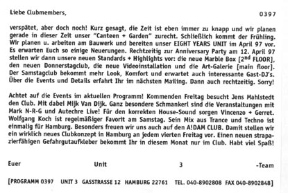 1997.03 Mailing UNIT