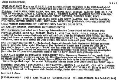 1997.04 Mailing UNIT