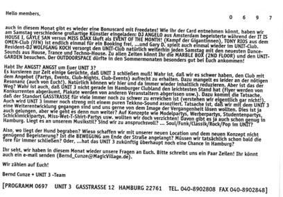 1997.06 Mailing UNIT