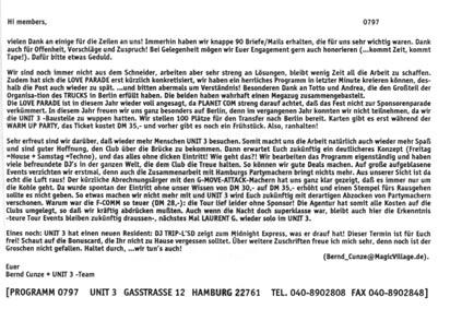 1997.07 Mailing UNIT