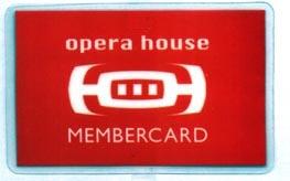 Opera House - Membercard
