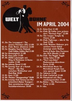 2004.04 Weltbühne