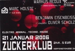 2006.01.21 Zuckerklub