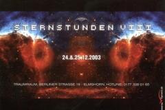 Elmshorn - 2003.12.24 Sternstunden VIII