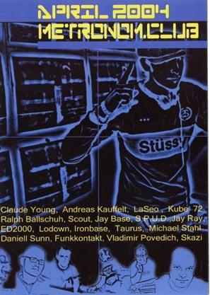 2004.04 Metronom Club a