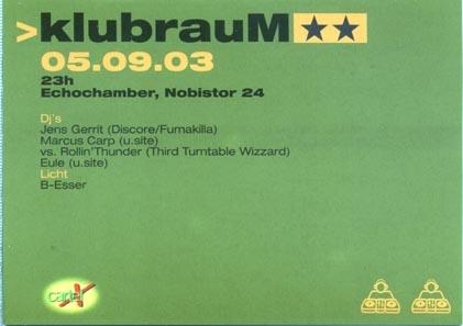 2003.09.05 Echochamber
