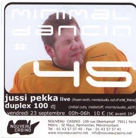 2005.09.23 Nouveau Casino a