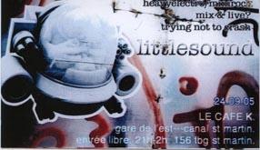 2005.09.24 Le Cafe K
