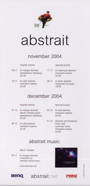 2004.11 Le Cafe Abstrait b