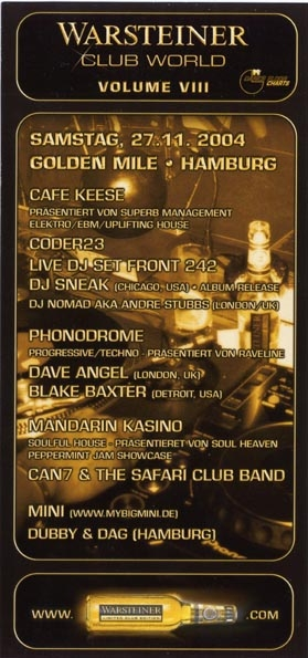2004.11.27 Cafe Keese