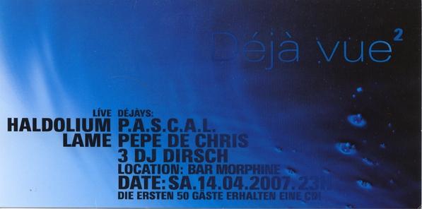 2007.04.14 Bar Morphine a