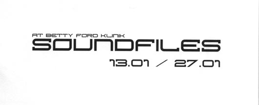 2001.01.13 Betty Ford Klinik