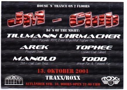2001.10.13 Traxx