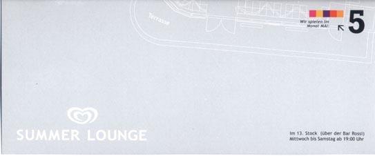 2003.05 Langnese Summer Lounge