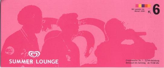 2003.06 Langnese Summer Lounge