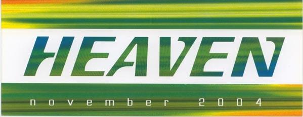 2004.11 Heaven a
